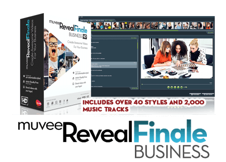 muvee Reveal Finale Business Pack